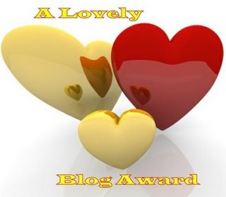 A lovely blog award Award and Tag from Kak Nur & Defina