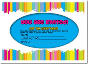 Invitation Card - Front