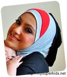tudung syria farah adeeba