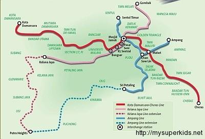 Laluan MRT Sungai Buloh Kajang