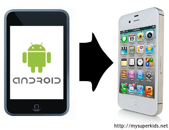 transfer samsung to iphone