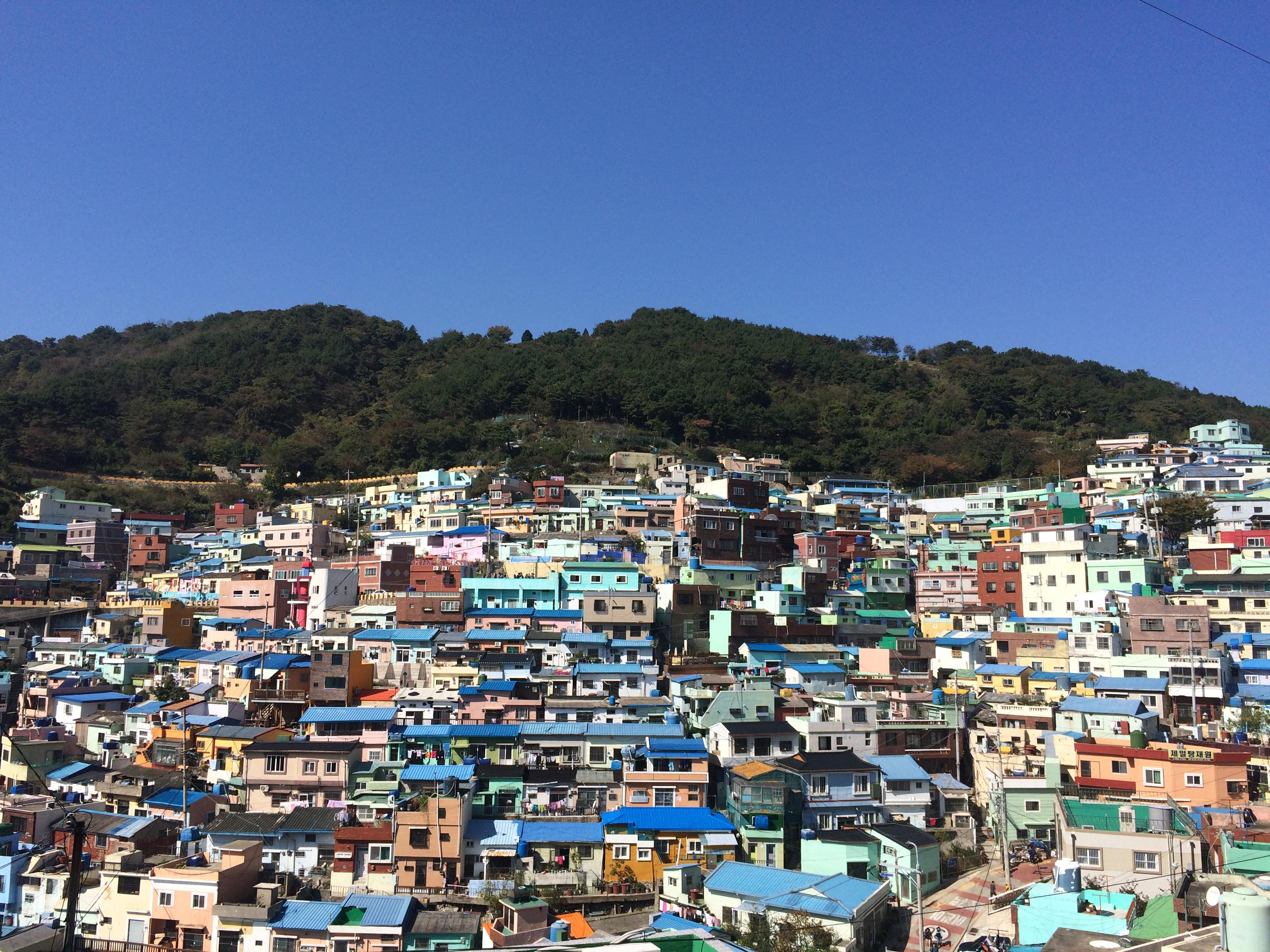 Menarik di Busan : Gamcheon Cultural Village