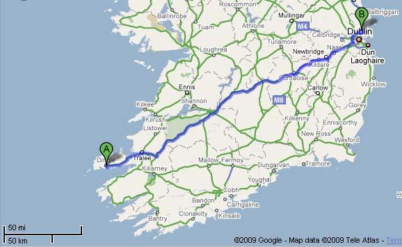 DUBLIN DINGLE IRELAND